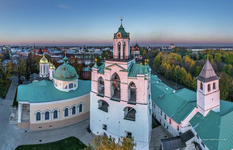 Спасо- Преображенский монастырь – хранитель и оберег Ярославля.
