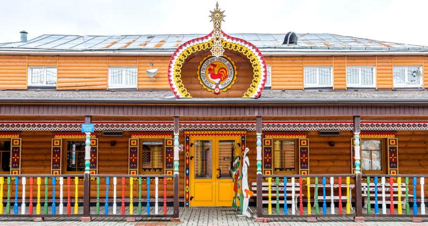 Резиденция государыни Масленицы.